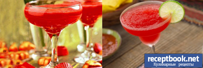 Рецепт фруктового коктейля с белым вином