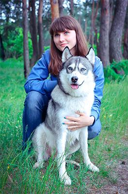 Лидия Чернова и Майя