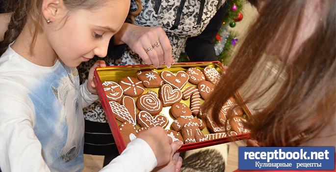 радость при виде имбирного печенья